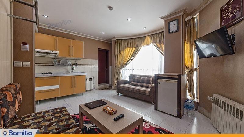 آپارتمان یک خوابه هتل آپارتمان قصر آیدین