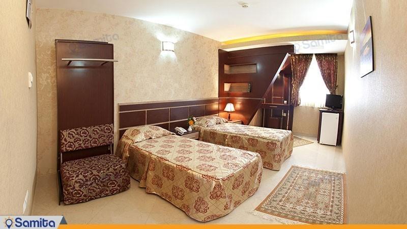 اتاق دو تخته هتل صابر