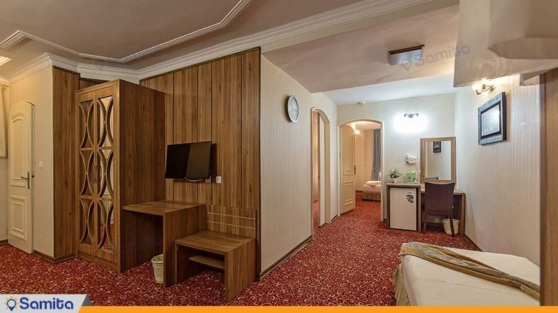آپارتمان دو خوابه هتل صادقیه مشهد