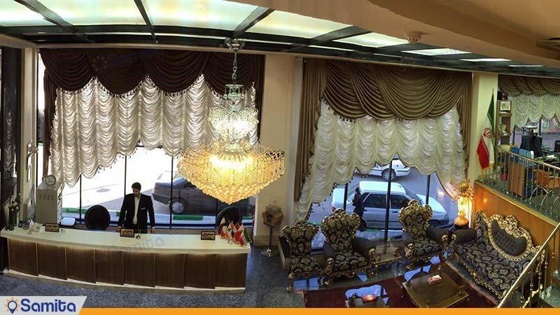 پذیرش هتل شارستان