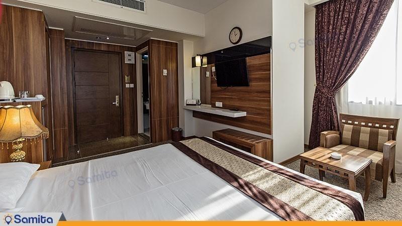 اتاق دو تخته دبل هتل سی نور