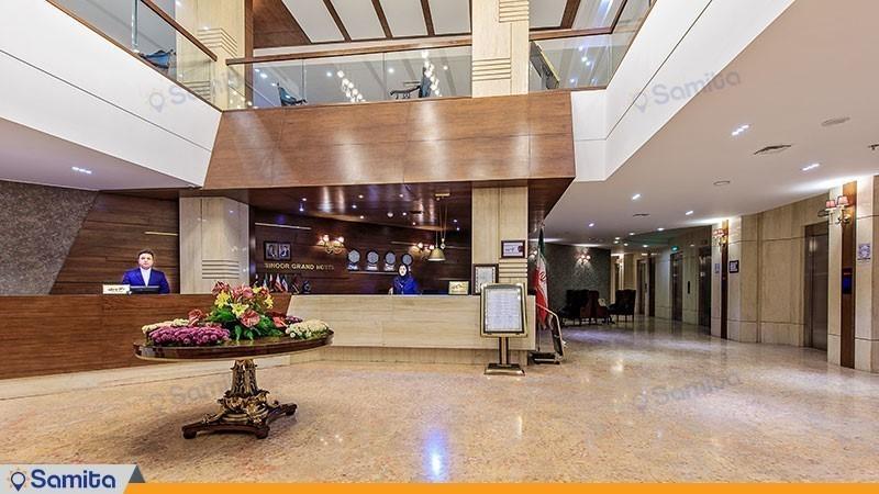 پذیرش هتل سی نور