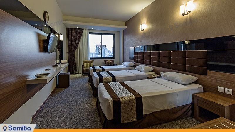 اتاق سه تخته هتل سی نور