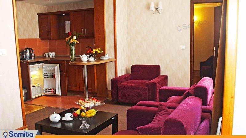 آپارتمان یک خوابه هتل آپارتمان سروش