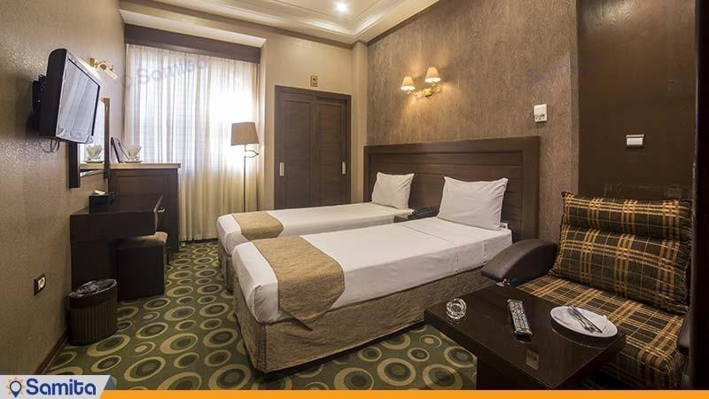 اتاق دو تخته هتل توحید