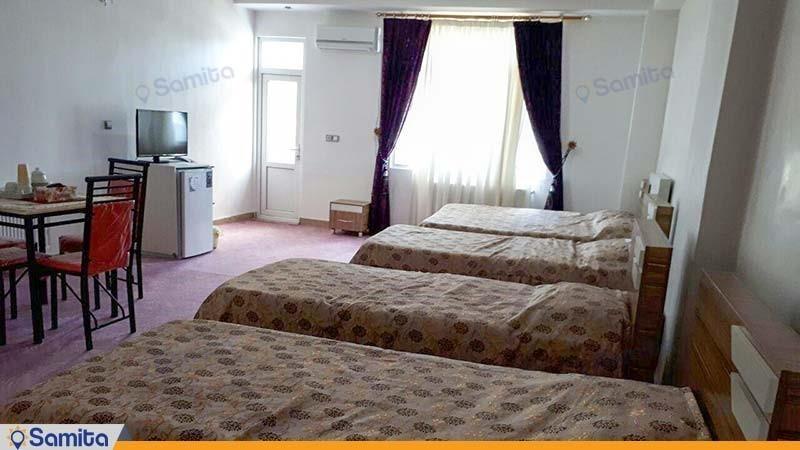 اتاق پنج نفره هتل آران