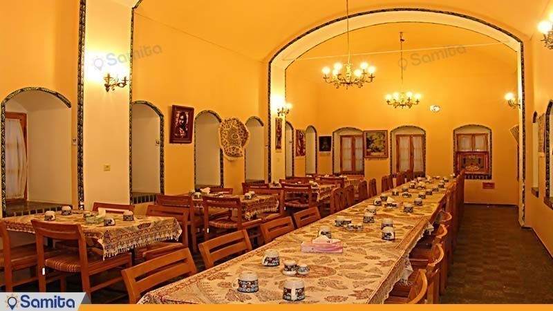 رستوران هتل جهانگردی نائین