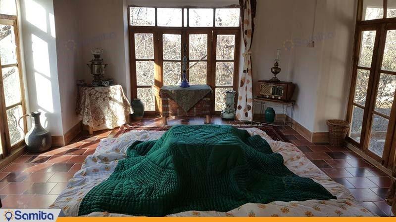 اتاق اقامتگاه بومگردی کوشک آقا محمد