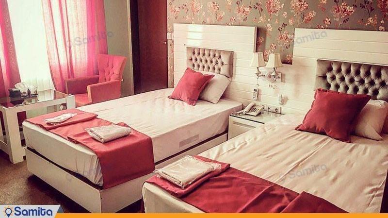 اتاق دو نفره هتل ایرانیان