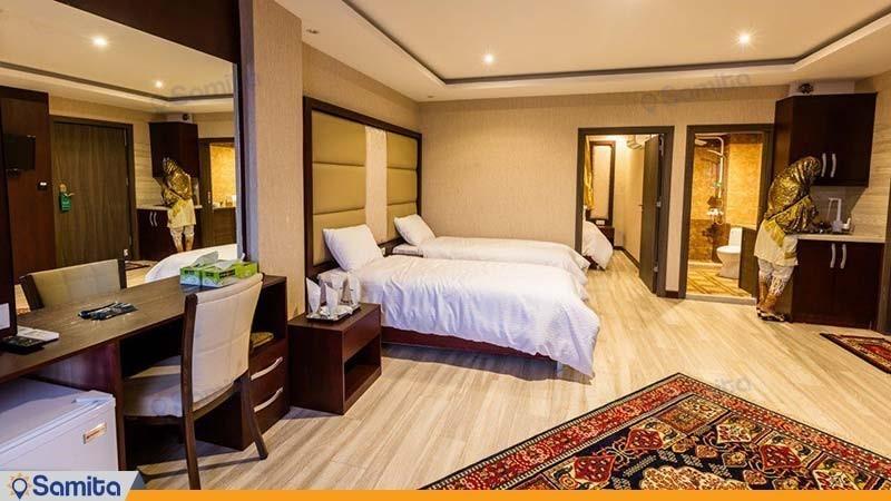 سوئیت یک خوابه چهار نفره هتل آرتا
