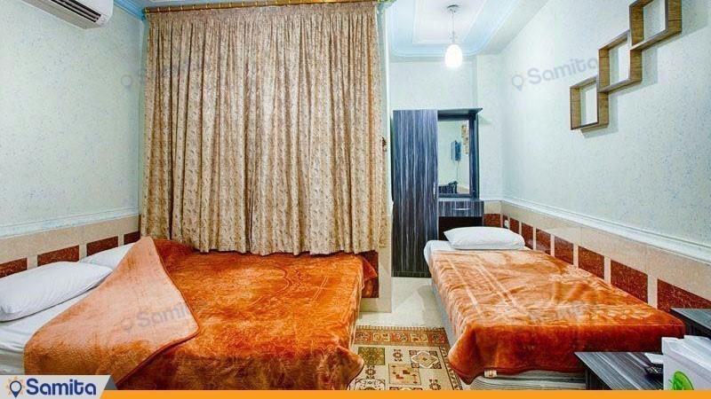 اتاق سه تخته هتل آسماری