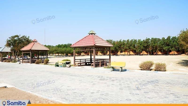 أماكن الجلوس مجمع سكني ساحل طلائي
