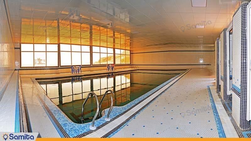 حمام السباحة مجمع سكني ساحل طلائي