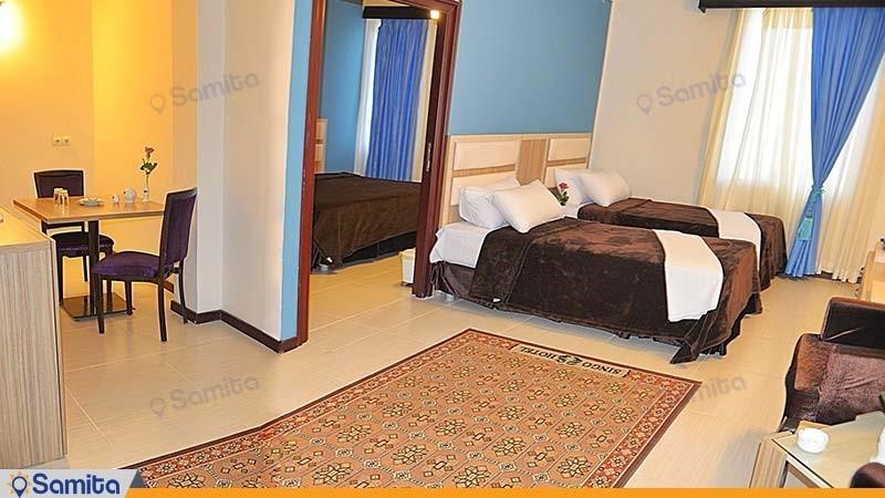 سوئیت سه تخته هتل سینگو