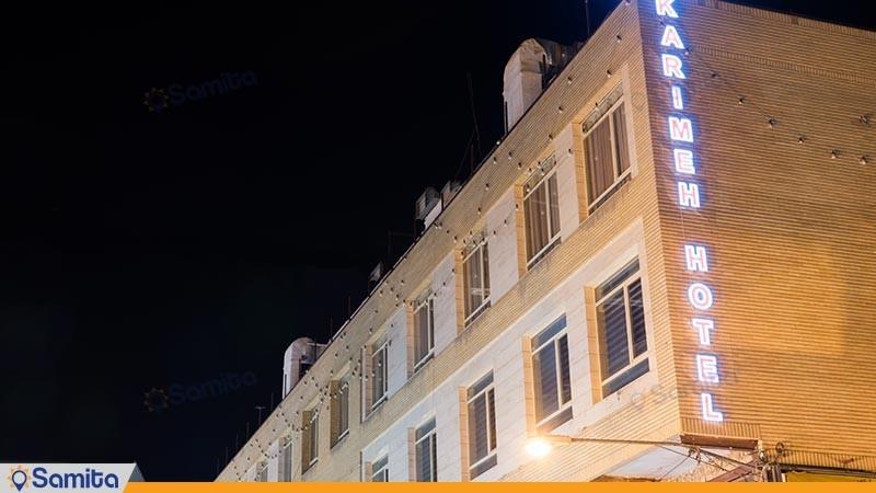 نمای ساختمان هتل کریمه