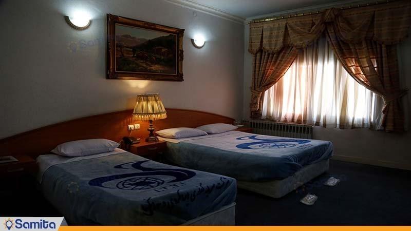 غرفة ثلاثية دار الضيافة جهانكردي رفسنجان