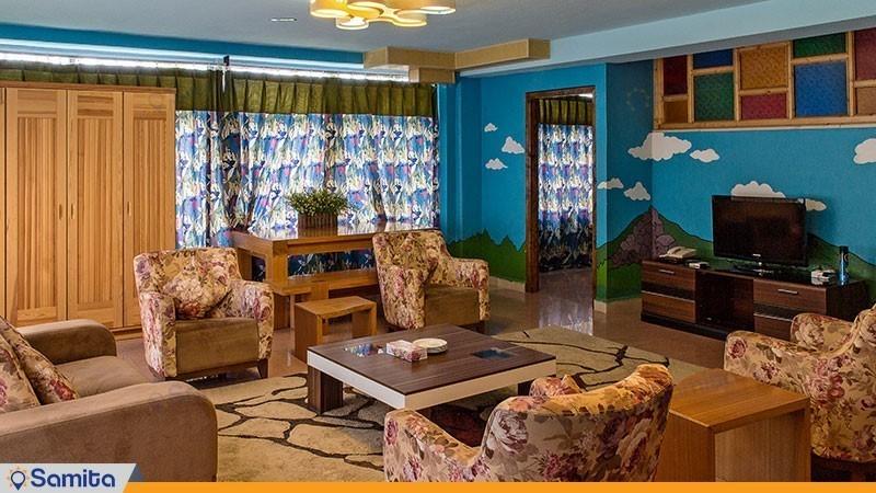 سوئیت کوهستان هتل بام سبز