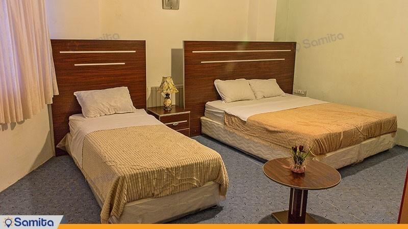 اتاق سه تخته هتل بزرگ ملکشاه