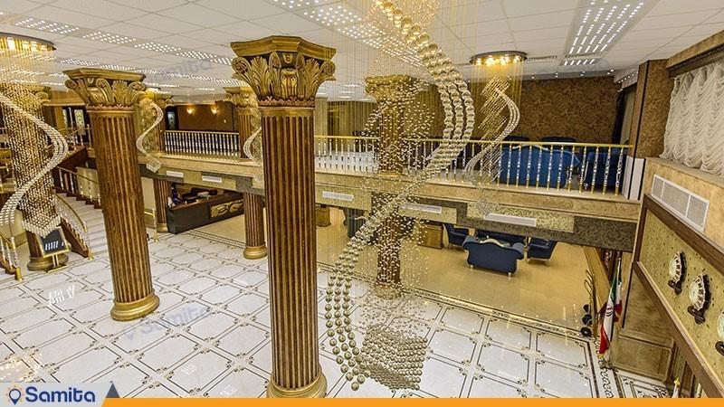 لابی هتل بزرگ کادوس