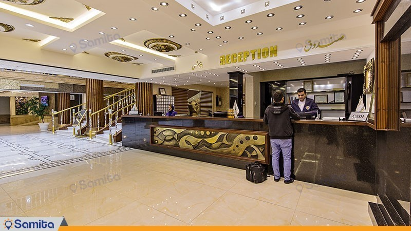 پذیرش هتل بزرگ کادوس