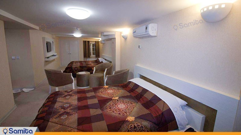 اتاق چهارتخته هتل پامچال رشت