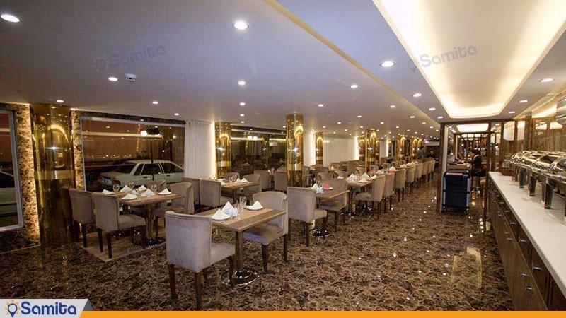 رستوران هتل پامچال رشت