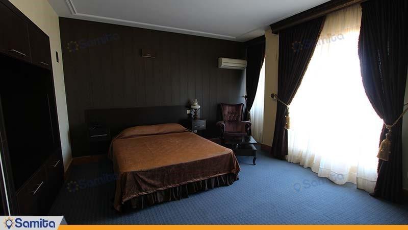 اتاق دو نفره دبل رو به دریا هتل ساحلی پدیدار خزر