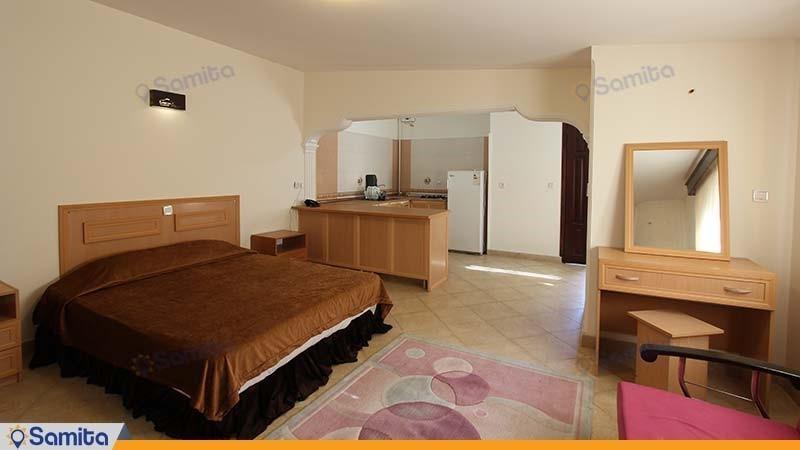 سوئیت دو نفره هتل ساحلی پدیدار خزر