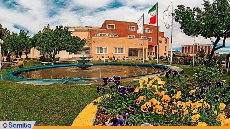 واجهة فندق جهانكردي سنندج