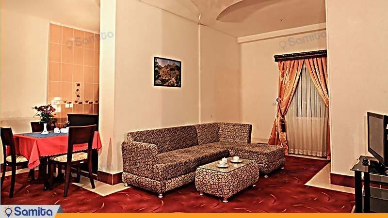 جناح بغرفتي النوم تتسع لأربعة أشخاص فندق جهانكردي سنندج