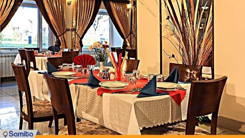 مطعم فندق جهانكردي سنندج