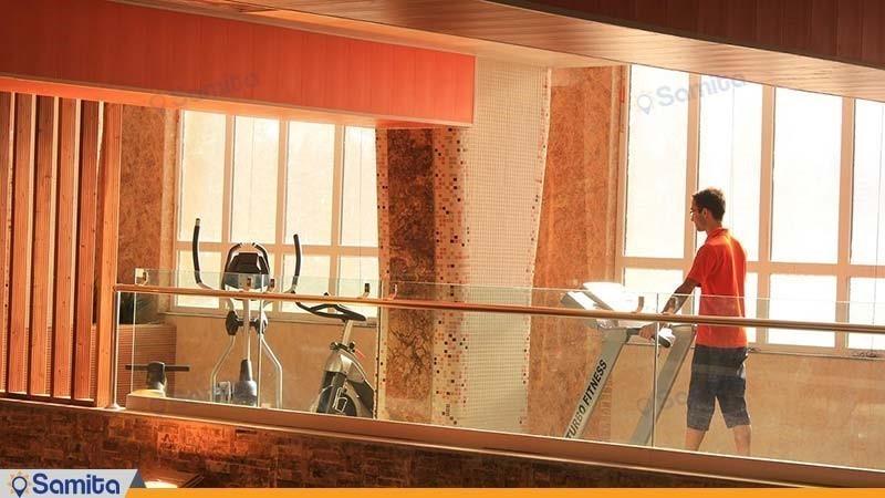 باشگاه بدنسازی هتل آپارتمان ارشاد