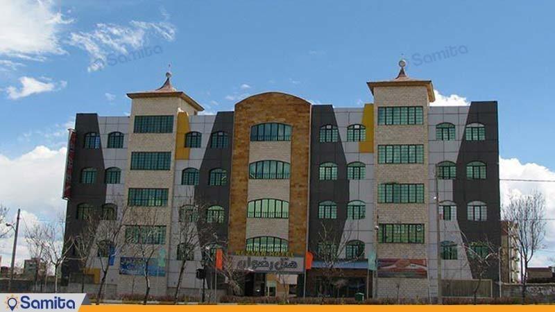 نمای ساختمان هتل خلیج فارس رضوان