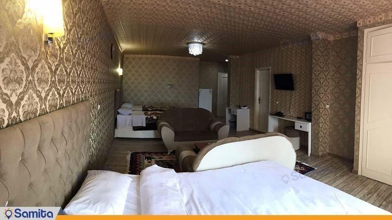 اتاق چهار نفره vip هتل خلیج فارس رضوان