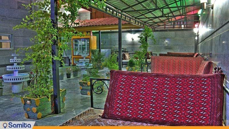 آلاچیق های سنتی هتل صحت