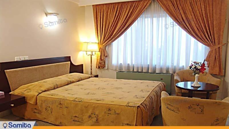 اتاق دبل هتل جهانگردی سمنان