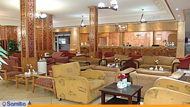 لابی هتل جهانگردی سمنان