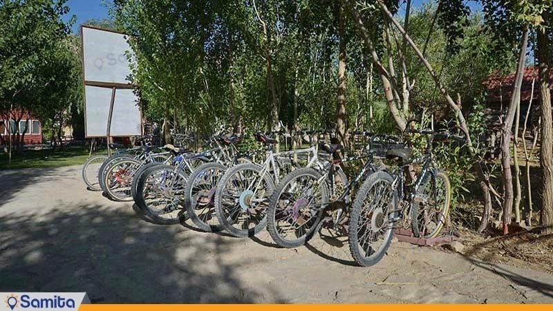 دوچرخه سواری هتل پولاد کف