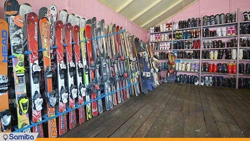 اسکی سواری هتل پولاد کف