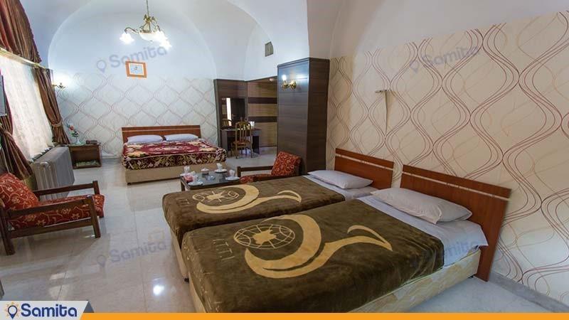 اتاق چهار نفره هتل جهانگردی شهرکرد