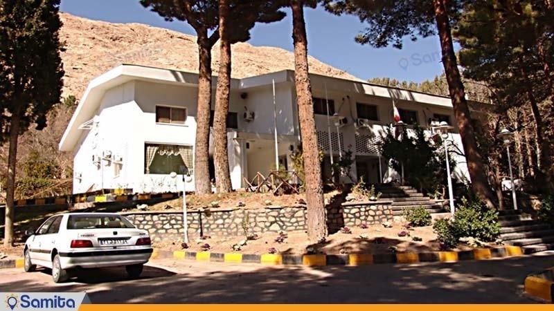 نمای ساختمان هتل جهانگردی شاهرود