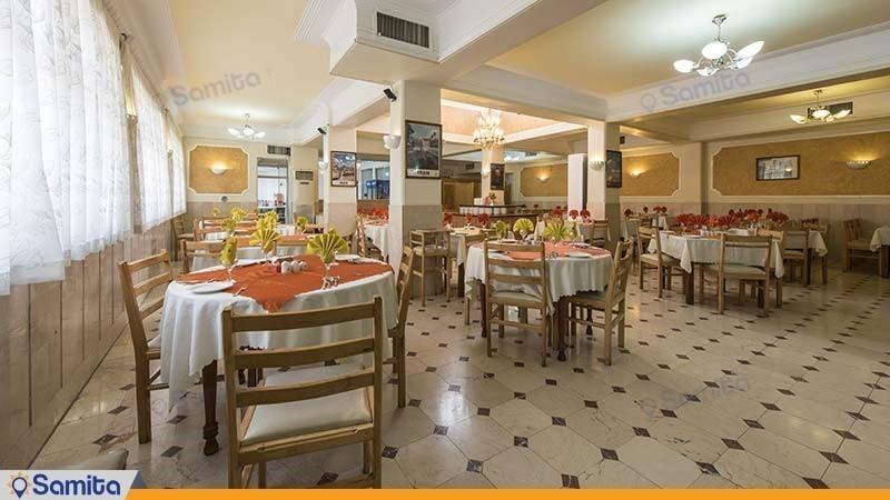 رستوران هتل ارگ