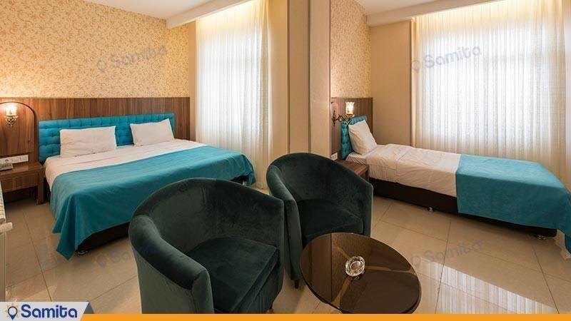 اتاق سه نفره هتل ارگ