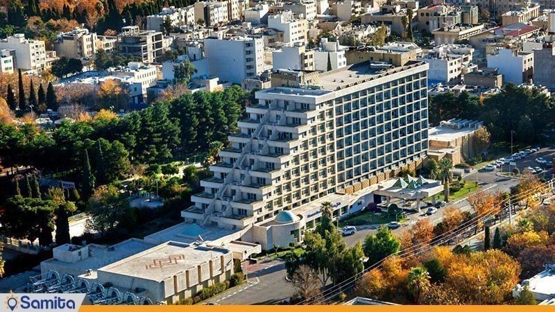 نمای ساختمان هتل هما شیراز