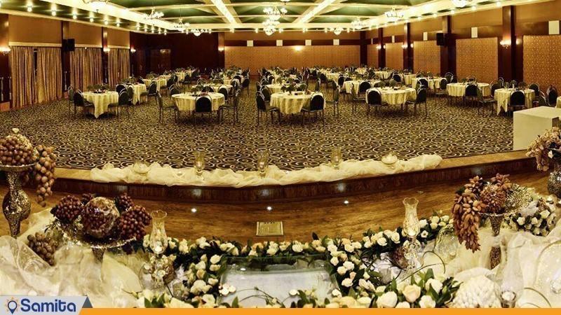 سالن ضیافت هتل هما شیراز