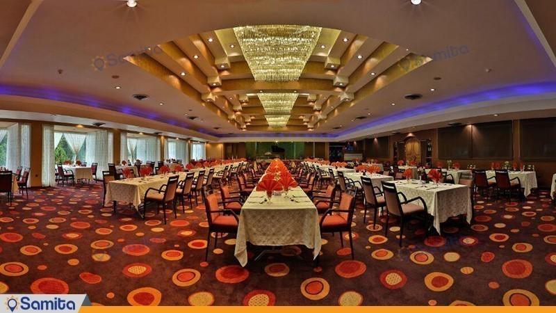 رستوران پرنیان هتل هما شیراز