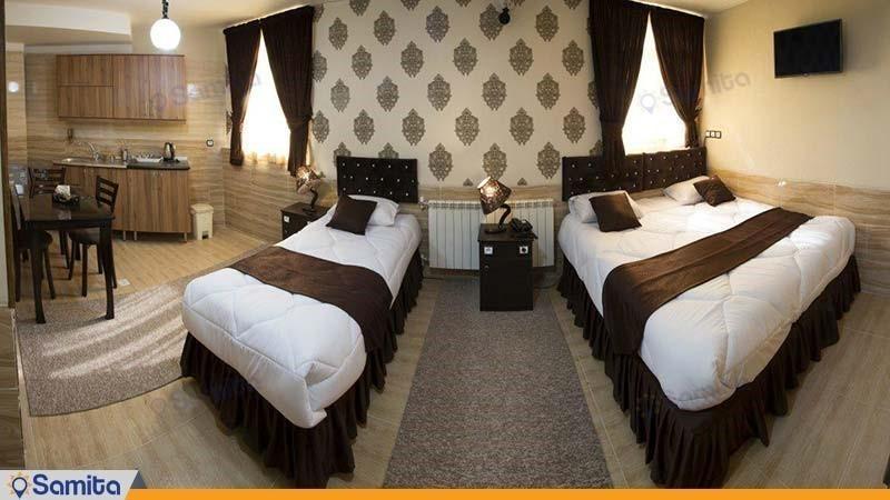 اتاق  سه نفره لوکس هتل کیوان