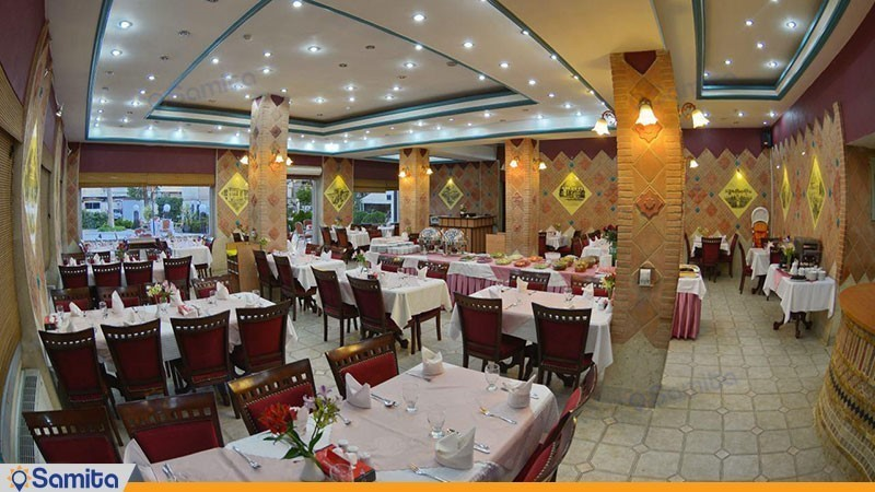 رستوران هتل پارک سعدی