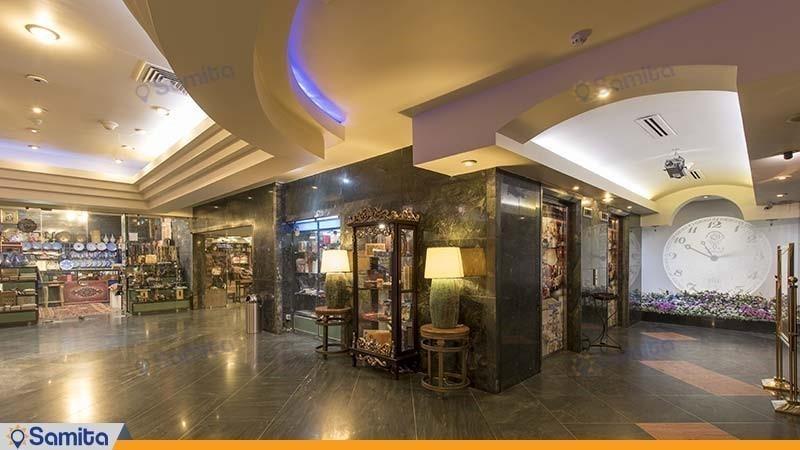 مرکز تجاری هتل بین المللی پارس شیراز
