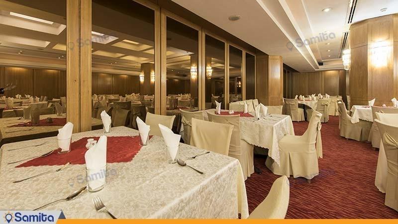 سالن پذیرایی هتل بین المللی پارس شیراز